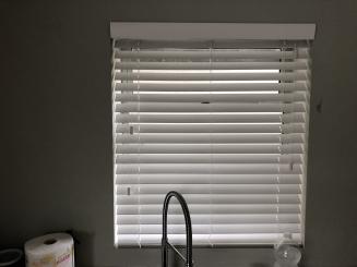 Cool White Window blind
