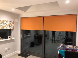 Roller blinds fitted in Rathfarnham Window blind