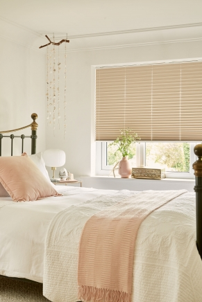Wilton Peach Blackout Window blind