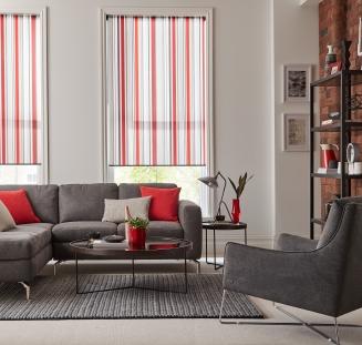 Cece Crimson Window blind