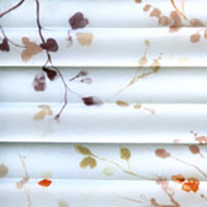 Sapota Autumn pleated blinds - From 55 Euro - Pleated Blinds