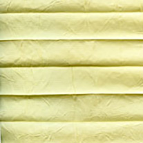 Creped Lemon From 52 Euro - Pleated Blinds