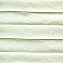 Creped Ivory From 52 Euro - Pleated Blinds