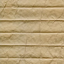 Creped Taupe From 52 Euro - Pleated Blinds