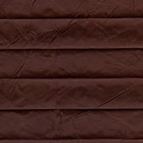 Creped Chocolate From 52 Euro - Pleated Blinds