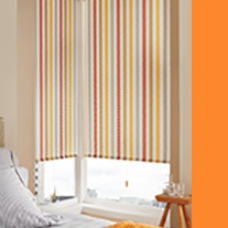 Seismic Orange - From 34 Euro - Roller Blinds