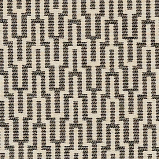 Labyrinth Liquorice - Roman Blinds
