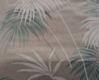 Paradise Teal - New Range 2016 - Roman Blinds