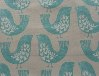 Gustav Turquoise - New Range 2016 - Roman Blinds