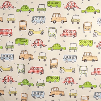 Motor Madness - Roman Blinds