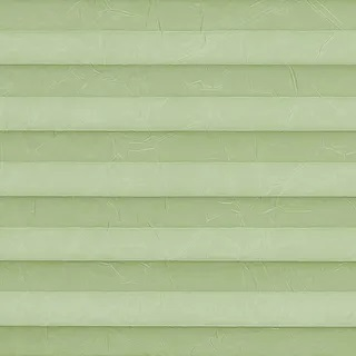 Creped Green Mist Pleated Blinds - Pleated Blinds