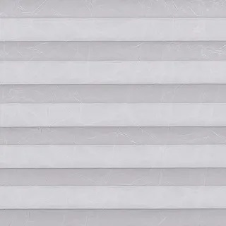 Creped Silver Pleated Blinds - Pleated Blinds